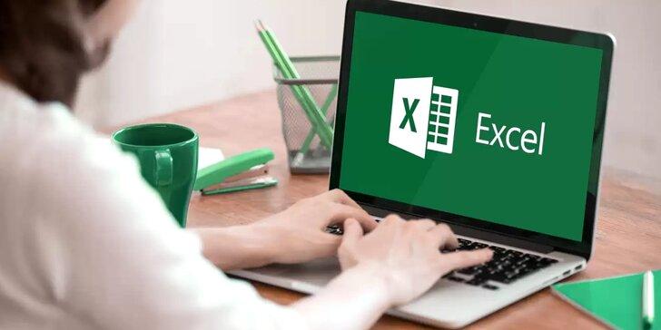 Kompletní roční online kurz MS Excel s certifikátem