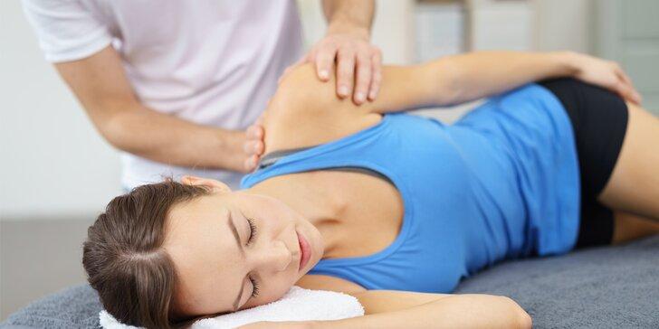 Fyzioterapie, masáže i SM Systém: 30 či 60 minut i permanentky na 5 návštěv