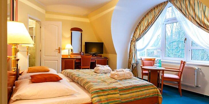 3 dny v Mariánských Lázních ve 4* hotelu se saunou, procedurami a polopenzí