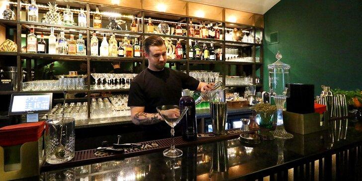 Objevte krásu koktejlů: voucher na konzumaci za 300/500 Kč v Balbi baru