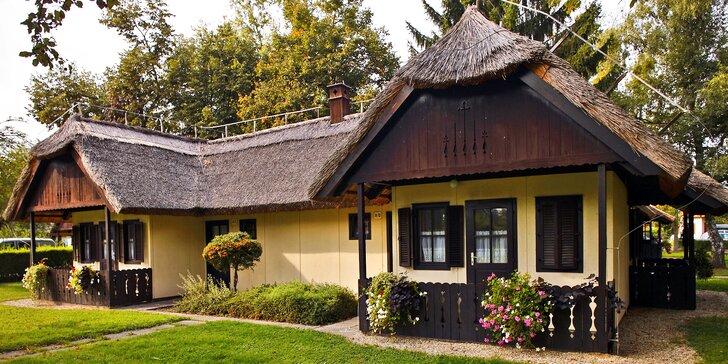 Slovinské termální lázně: bungalovy s polopenzí a volný vstup do aquaparku