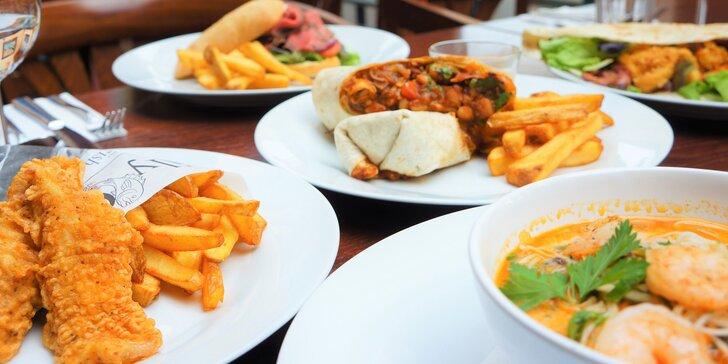 Jídlo z ulice pod jednou střechou: speciální street food menu a limonáda