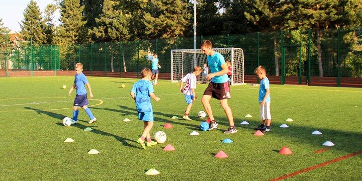 Na hřišti jako doma: Individuální a skupinové tréninky fotbalu pro děti
