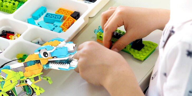 """Pětidenní příměstský tábor """"Dino Park"""": program, strava i výroba robota"""