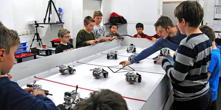 Nejlepší prázdniny: pětidenní příměstský tábor, kde si děti vyrobí robota