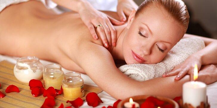 Chvilka odpočinku: Aromaterapeutická masáž v délce dle výběru