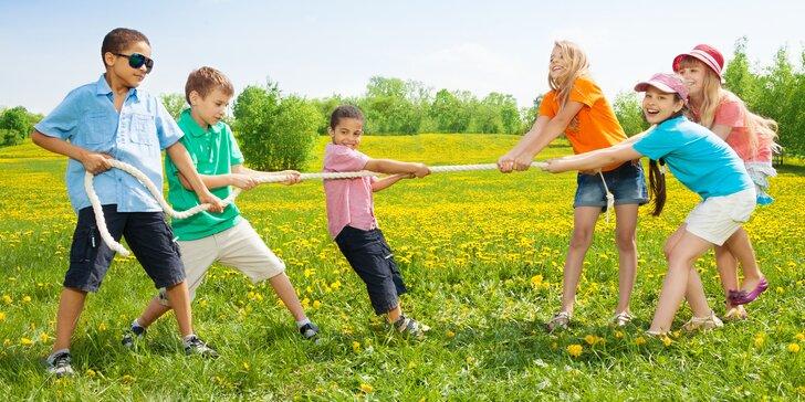 Příměstský tábor se sportovní tematikou: 5 dní se stravou a programem