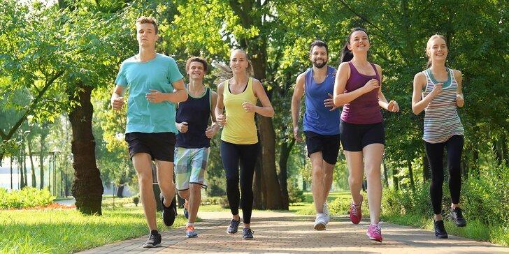 Letní nabídka běžeckých kurzů pro začátečníky i pokročilé pro 1 i 2