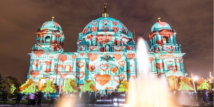 Berlín: Výlet na proslulý říjnový festival světel do umělecké metropole