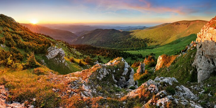 3–4 dny na Slovensku pro dva: Polopenze i sleva do koupacího sudu