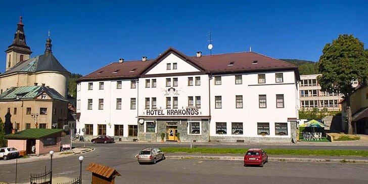 Krkonoše: hotel v Rokytnici, 2 nebo 5 nocí s polopenzí, saunou a kartou slev