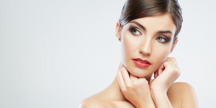 Regenerační ošetření pleti s masáží nebo lifting řas včetně botoxu