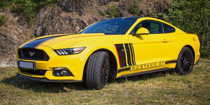 Splněný řidičský sen: Nezapomenutelná jízda v novém Fordu Mustang GT 5.0
