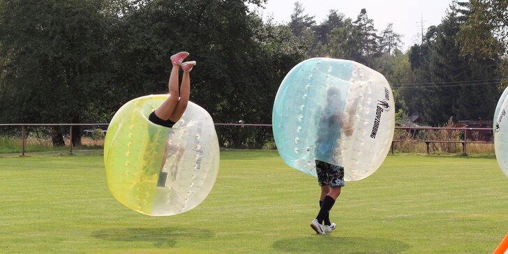 Bubble fotbal na 90 minut: ideální na párty nebo rozlučku se svobodou