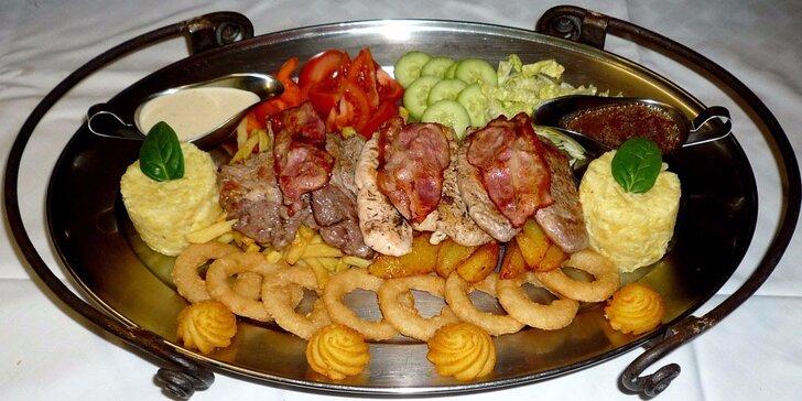 Rudolfovo fresh plato pro dva jedlíky v Golemově restauraci