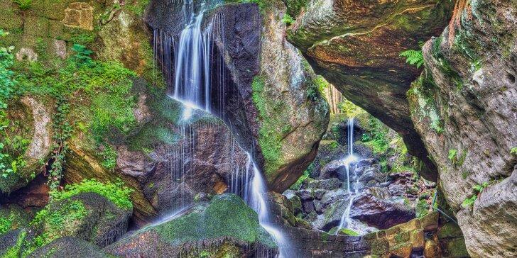 Krásy Saského Švýcarska vč. jízdy historickou tramvají k vodopádu Lichtheiner