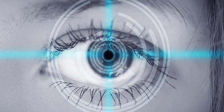 Laserová operace očí: Lasek s metodou individualizované ablace Wave front