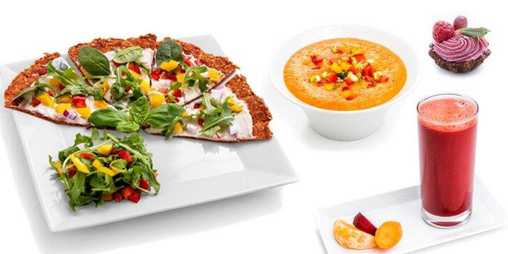 Projezte se ke zdraví: svěží 4chodové menu z RAWčka