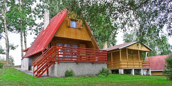 Hurá na Vysočinu: 4denní pronájem chaty u Žďárských vrchů až pro 7 osob