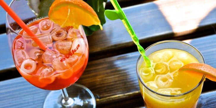 2 osvěžující letní drinky: Aperol Spritz, Daiquiri nebo Tequila Sunrise