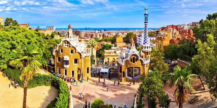 Letecký zájezd do Barcelony: ubytování na 3 noci se snídaní, průvodce