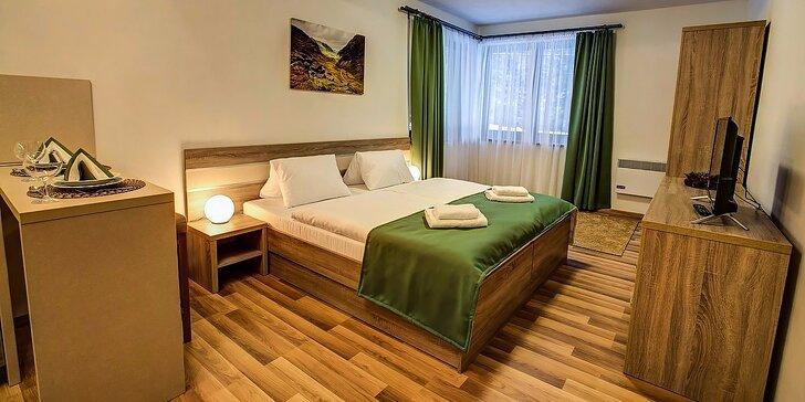 Luxusně zařízené apartmány se vstupy do aquaparků nebo na Chopok pro 2