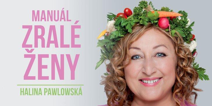 Vstupenka na talk show Haliny Pawlowské Manuál zralé ženy