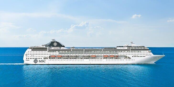 Záloha na plavbu výletní lodí: Dubaj, Bahrajn i Omán, rozšířená plná penze
