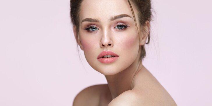 Luxusní kosmetické ošetření pleti včetně mikrodermabraze a masáže obličeje