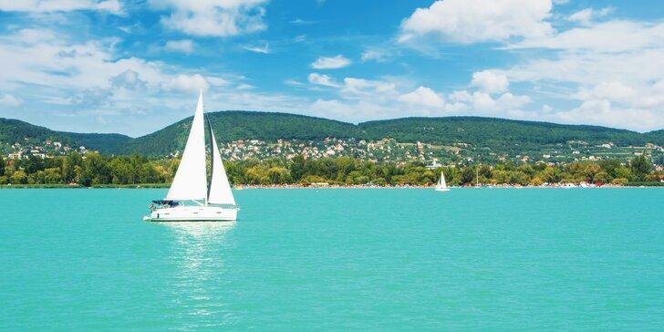 Babí léto nebo podzim na břehu Balatonu: hotel se snídaní a půjčení kol