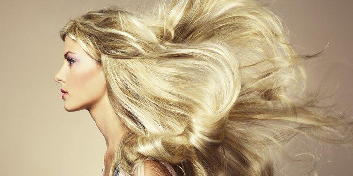 Balíčky péče o vlasy: ošetřující rekonstrukce vlasů, střih, barvení i melír