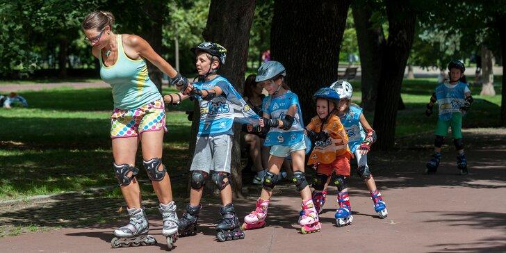 Sportovní lekce pro děti od 3-12 let: kolo, skateboard či brusle