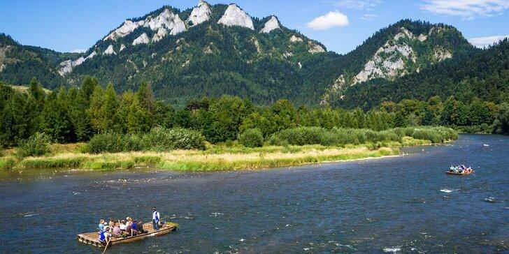 Pieninský národní park: pobyt pro milovníky turistiky i s polopenzí pro dva