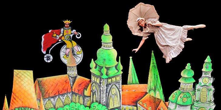 Fascinující černé divadlo: představení na motivy Alenky v říši divů pro malé i velké