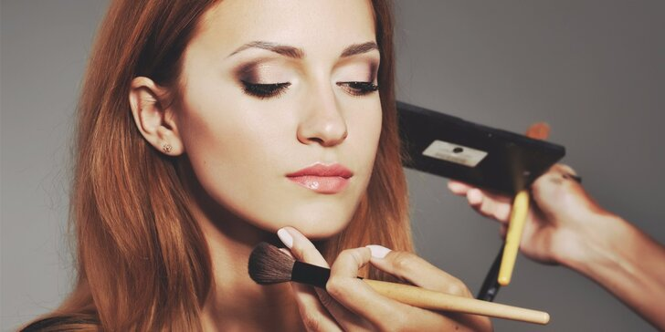 Sama sobě vizážistkou: kurz líčení i s kosmetickými balíčky