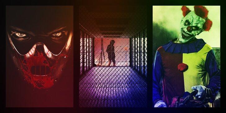 Dostaňte se ze spárů vraha, klauna nebo kriminálu: výběr ze 3 napínavých únikovek