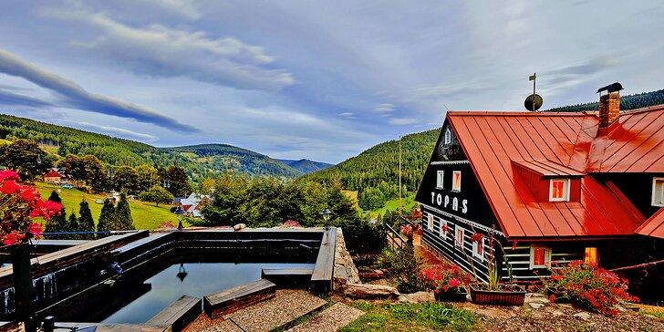 Dovolená v Krkonoších: ubytování pro 2 se snídaní, letní i podzimní termíny