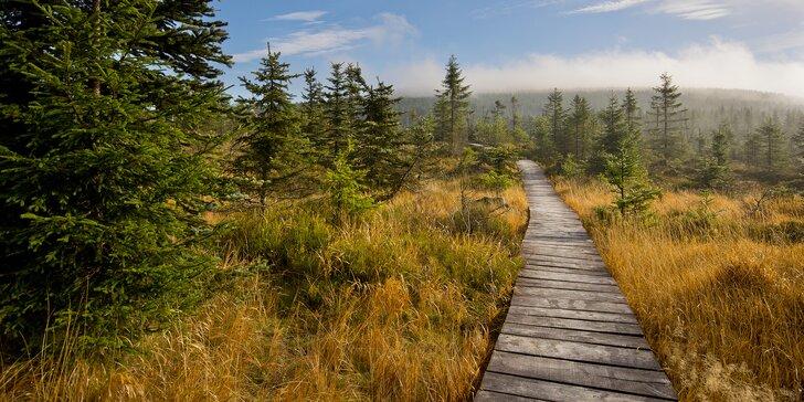 Jizerské hory na horské chatě pro 2 osoby: turistický pobyt na 2–6 nocí