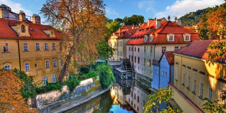 Podzim, zima či jaro v Praze: 4* hotel se snídaní a vstup do bazénu i sauny