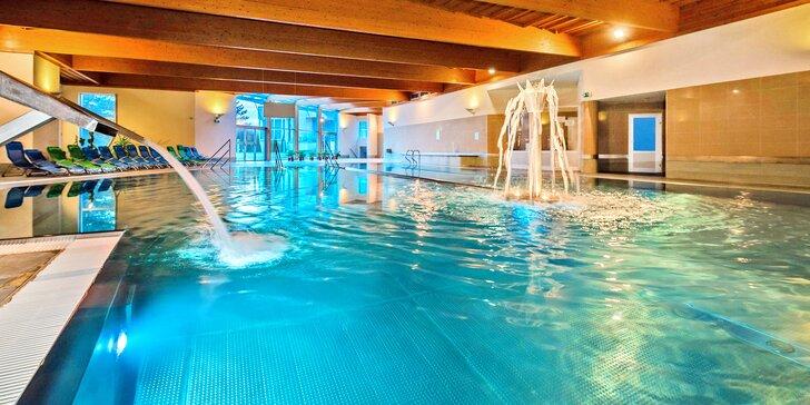 Wellness pobyt s polopenzí pro dva: sauny, vířivka, bazén a procedury