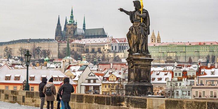 Mrazivá pražská tajemství: venkovní dobrodružná hra Poklad ztraceného řádu