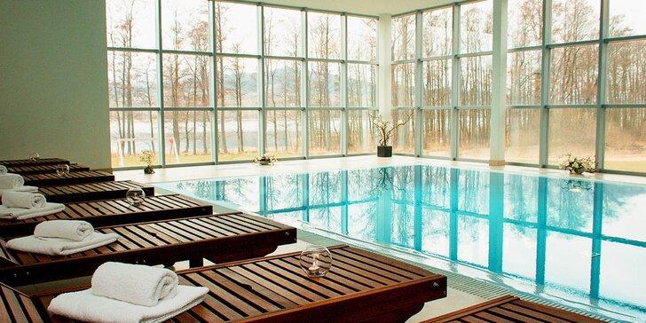 Podzim přímo u přehrady Lipno: polopenze, bazén, sauna i cyklovýlety