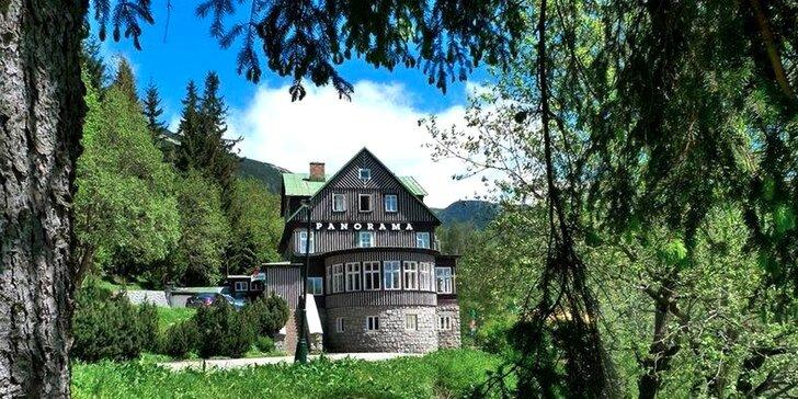 Od léta až do podzimu ve Špindlerově Mlýně: pohodová dovolená se snídaní