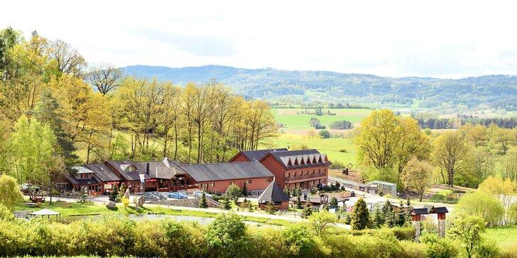 Pobyt ve středních Čechách: 2–3 noci s polopenzí, rybaření, bowling i minizoo