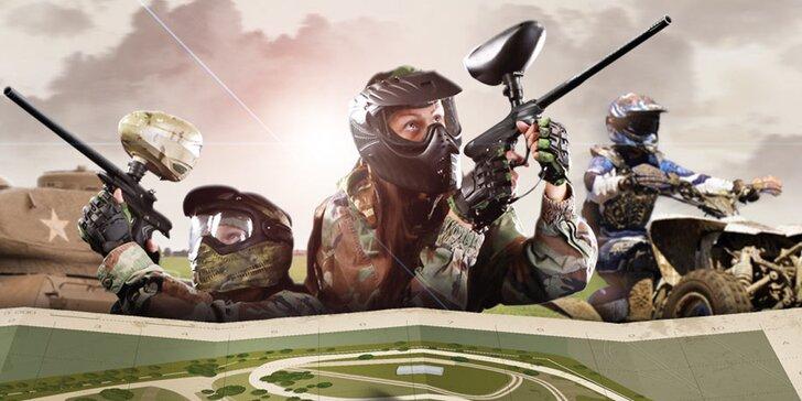 Zábava ve vojenském stylu: až 5 hodin aktivit v Army Parku Ořechov