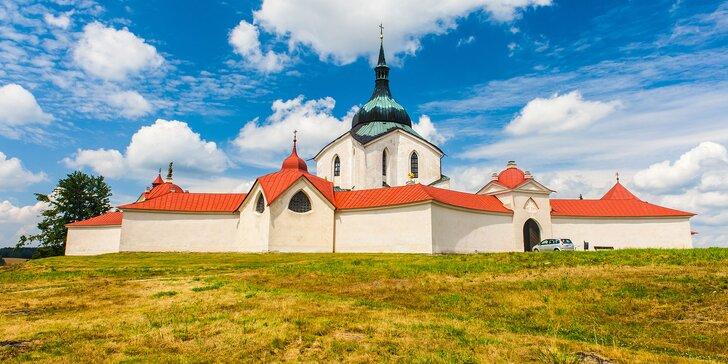 3denní poznávání Žďárských vrchů s polopenzí pro dva nebo pro rodinu