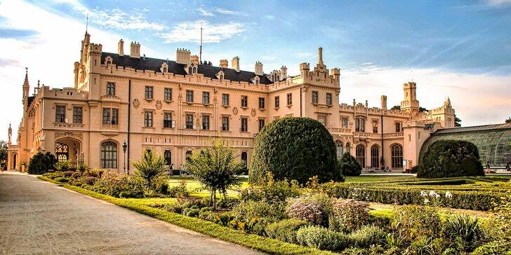 Luxusní pobyt v Zámeckém hotelu přímo u zámku Lednice a krásného parku