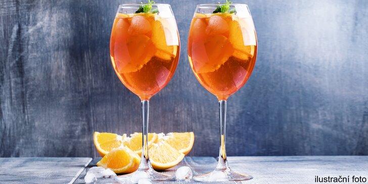 Příjemné osvěžení v Karolina Parku: 2 nebo 4 drinky Aperol Spritz