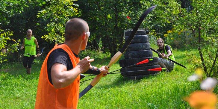Staňte se lučištníkem: akční indiánská archery game pro partu 10 či 16 hráčů