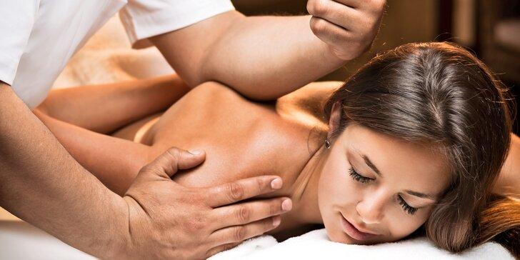 Božské uvolnění v salonu To Well: regenerační nebo zdravotní masáže